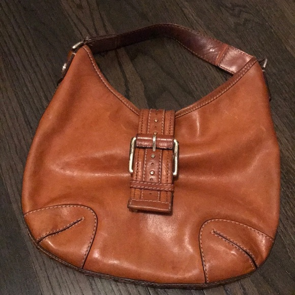 Michael Kors Cognac Leather Purse